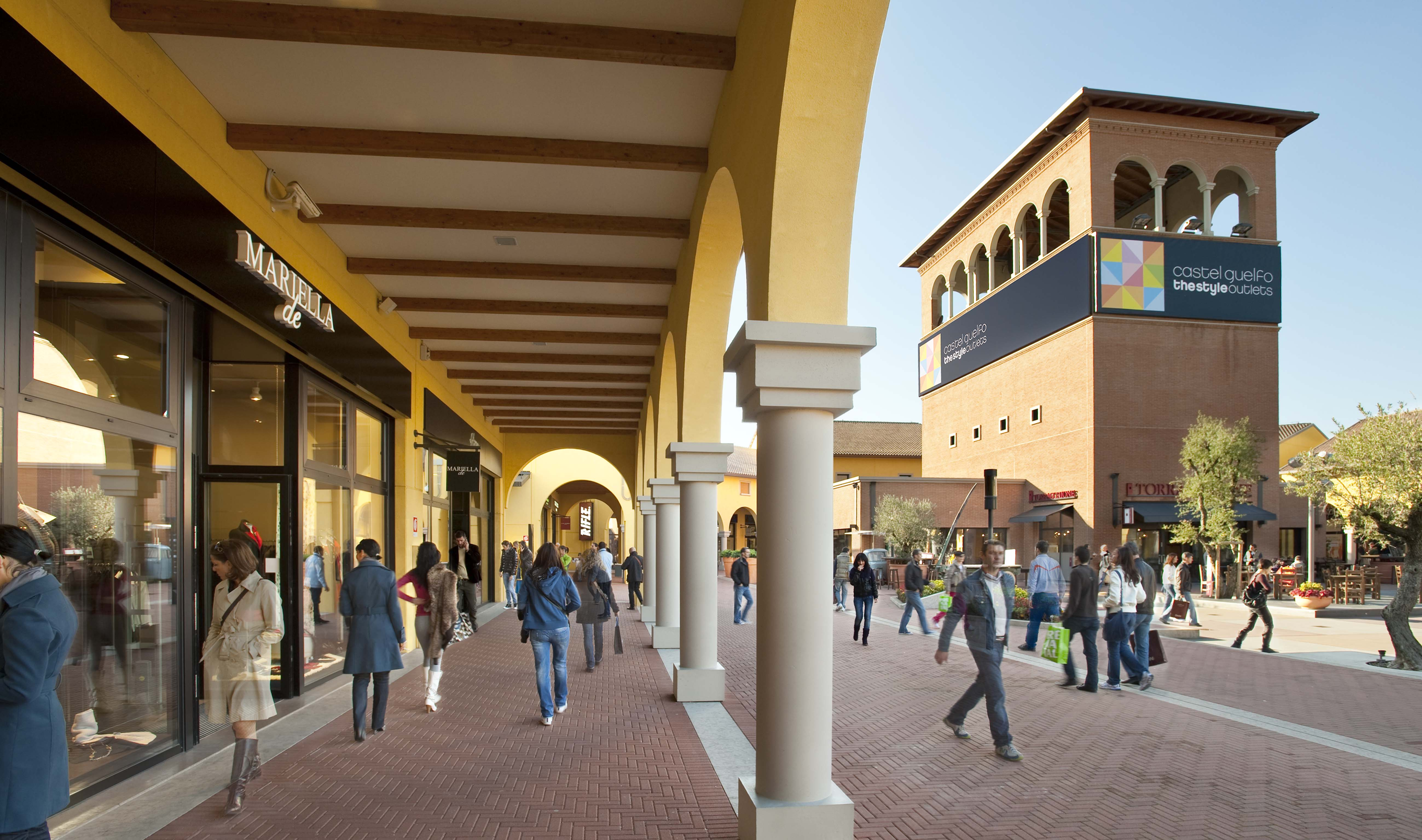 Castel Guelfo The Style Outlets | NEINVER