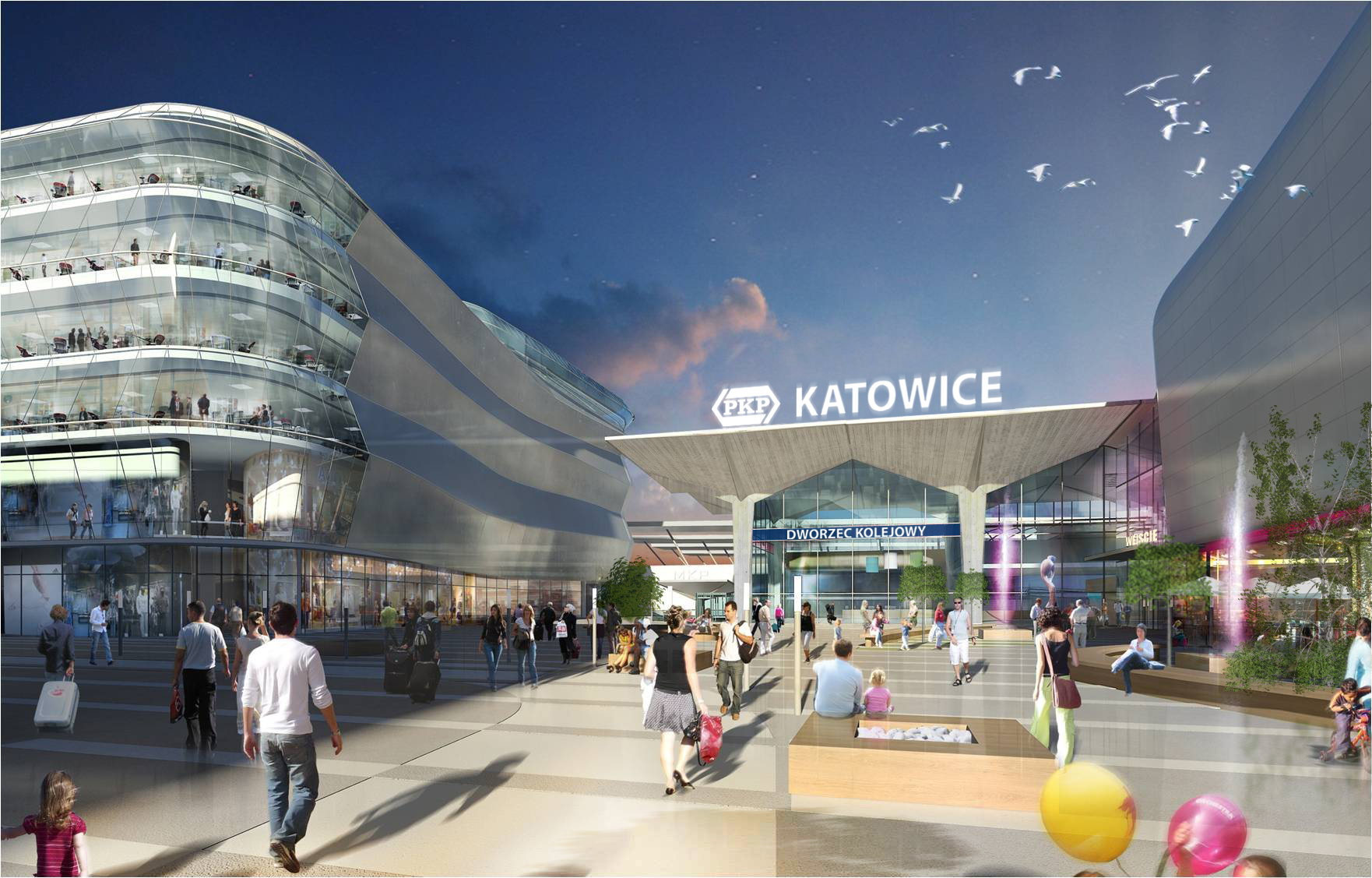 NEINVER lays foundation stone of its new project in Katowice