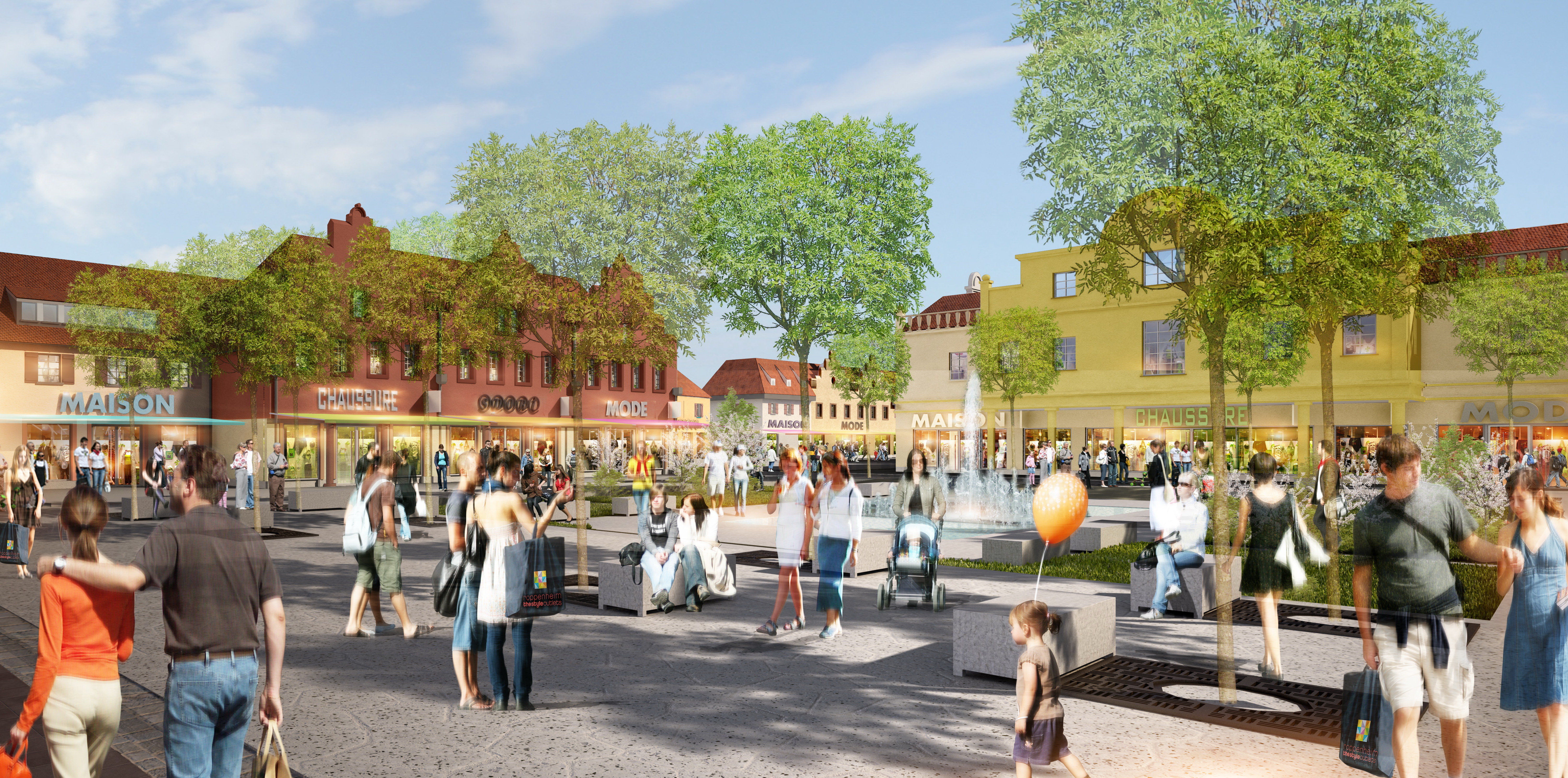 Roppenheim The Style Outlets: Grand opening set for 2012