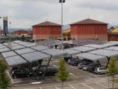 Inaugurato l'impianto fotovoltaico  nel parcheggio del Castel Guelfo The Style Outlets