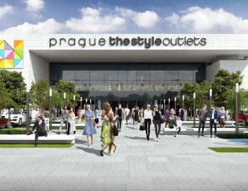 Prague The Style Outlets_wejście główne