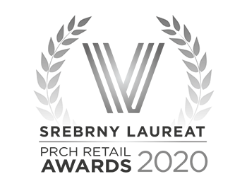 Srebrny Laureat PRCH Retail Awards 2020