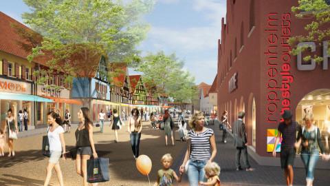 179c972d018315 Roppenheim The Style Outlets  Das Projekt schreitet planmäßig voran ...