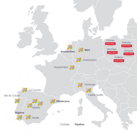 mapa Centros NEINVER