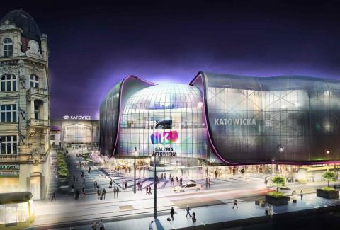 Rok na budowie Nowego Centrum Katowic